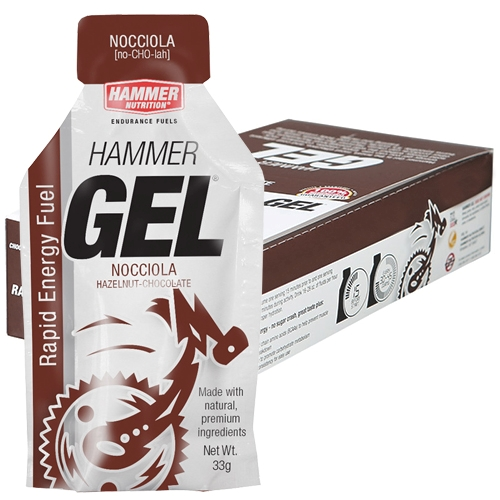 Hammer Gel Box of 24 Nocciola (Chocolate Hazelnut) - Hammer Style # HBN24 S16