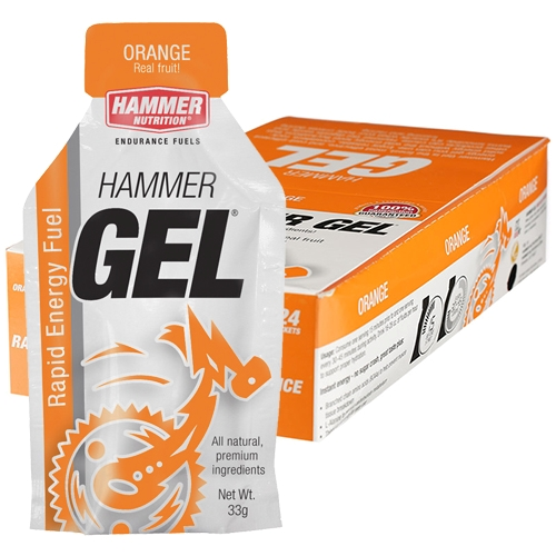 Hammer Gel Box of 24 Orange