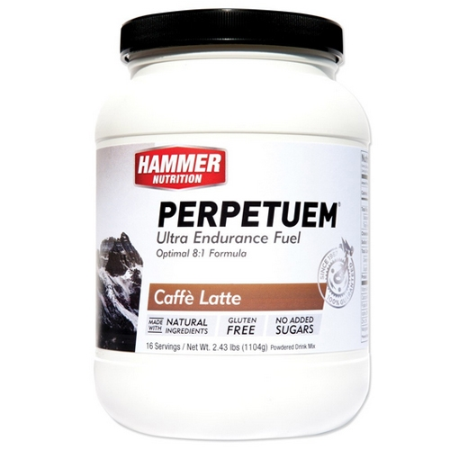 Hammer Perpetuem 16 Servings Caffe Latte - Hammer Style # PC16 S16