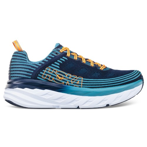 Hoka Bondi 6 Men's Black Iris/Storm Blue