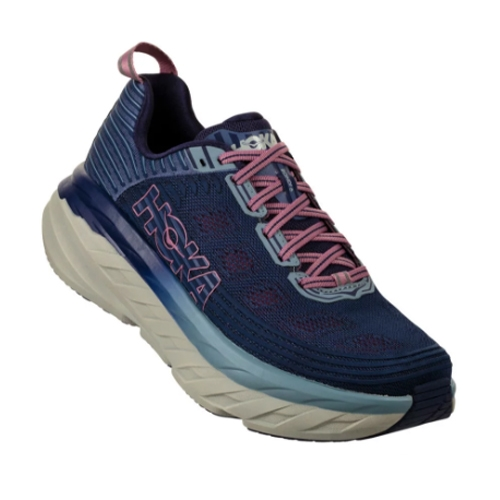 Hoka Bondi 6 Women's Marlin/Blue Ribbon