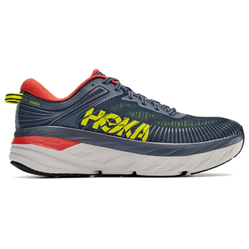 Hoka Bondi 7 Men's Turbulence / Chili