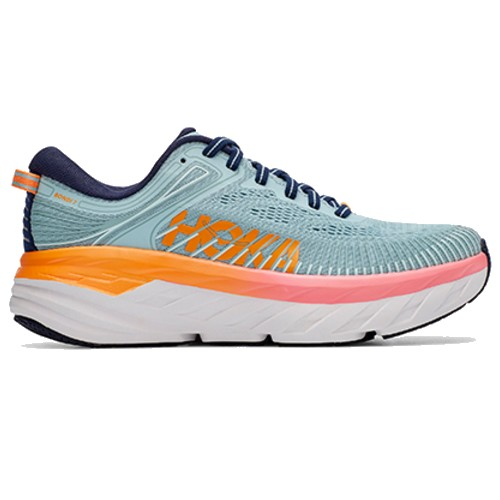 Hoka Bondi 7 Women's Blue Haze / Black Iris