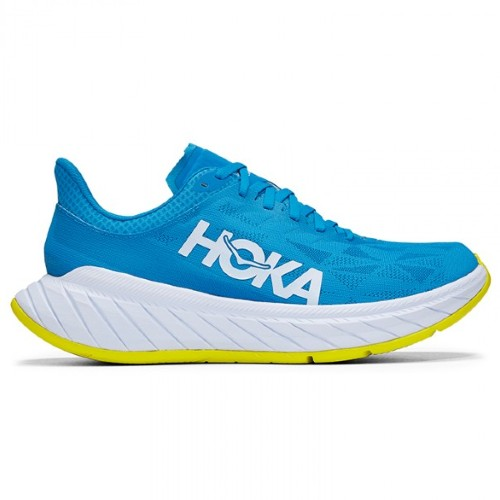 Hoka Carbon X 2 Women's Diva Blue/Citrus