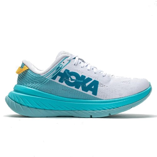 Hoka Carbon X Women's White/Angel Blue