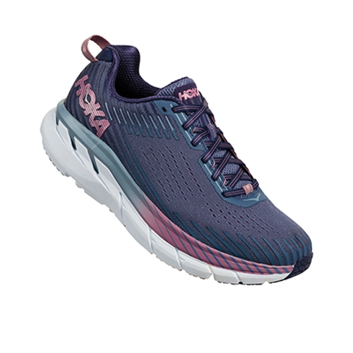 Hoka Clifton 5 Women's Marlin/Bue Ribbon - Hoka Style # 1093758 MBRB F18
