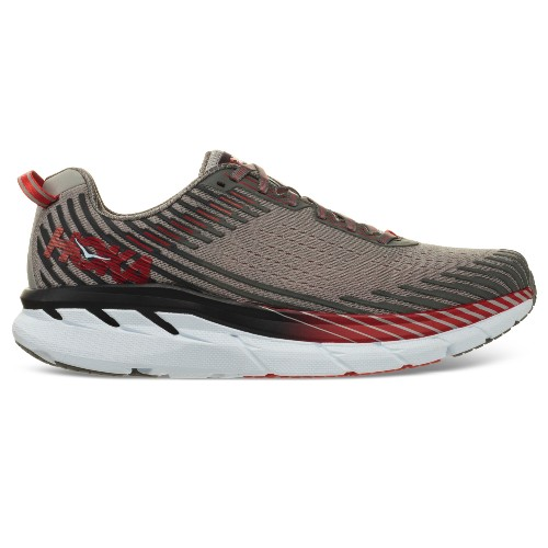 Hoka Clifton 5 Men's Alloy/Steele Grey