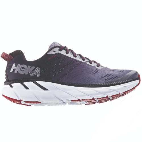Hoka Clifton 6 Men's Gull/Obsidian