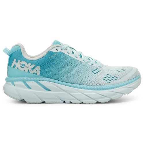 Hoka Clifton 6 Women's Antigua Sand/Wan Blue