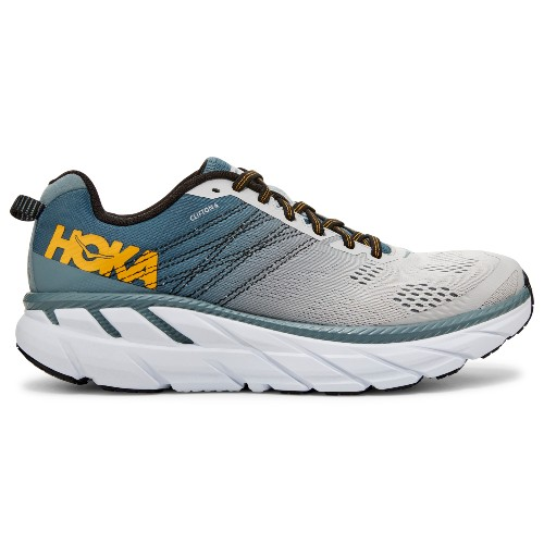 Hoka Clifton 6 Men's Lead/Lunar Rock