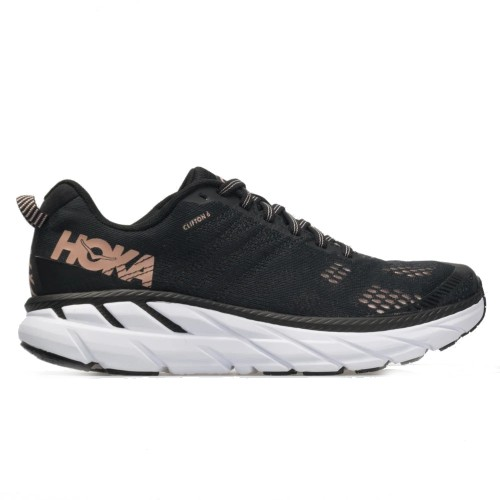 Hoka Clifton 6 Women's Black/Rose Gold