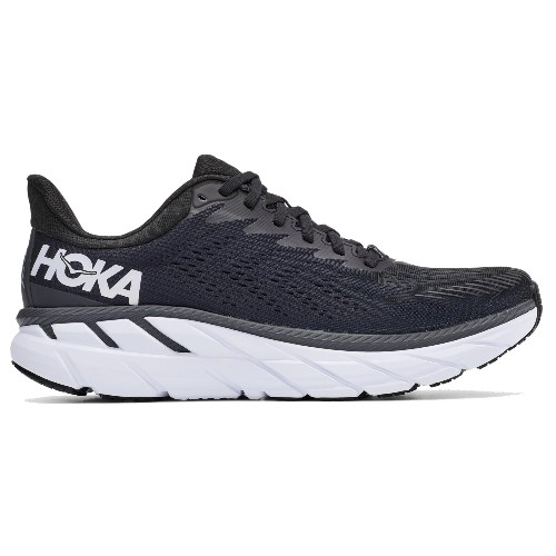 Hoka Clifton 7 Men's Black / White