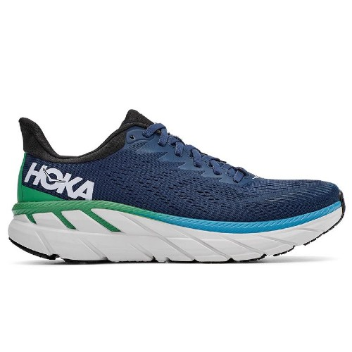 Hoka Clifton 7 Men's Moonlit Ocean/Anthracite - Hoka Style # 1110508-MOAN F20