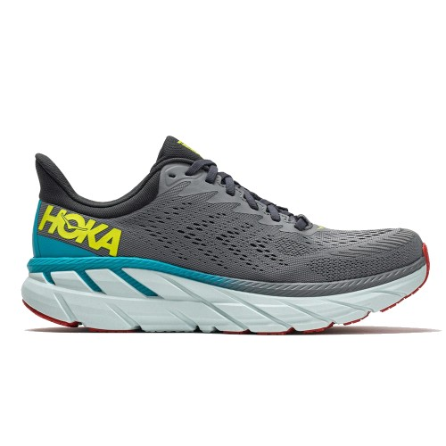 Hoka Clifton 7 Men's Wild Dove/Dark Shadow - Hoka Style # 1110508-WDDS S21