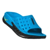 Hoka Ora Recovery Slide Men's Black/Process Blue