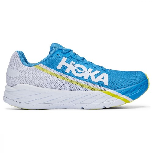 Hoka Rocket X Unisex White/Blue