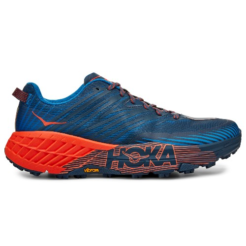 Hoka Speedgoat 4 Men's Majolica/Manderin Red