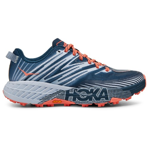 Hoka Speedgoat 4 Women's Majolica/Heather