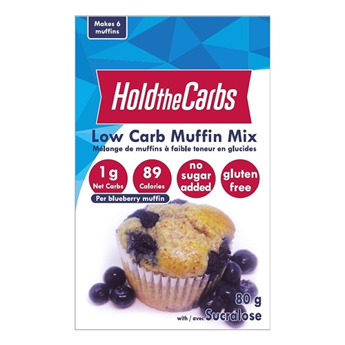 Hold the Carbs Low Carb Muffin Mix