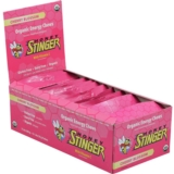 Honey Stinger Chews Case of 12 Organic Energy Cherry Blossoms