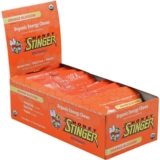 Honey Stinger Chews Case of 12 Organic Energy Orange Blossom