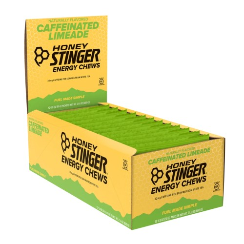 Honey Stinger Chews Case of 12 Organic Energy Lime-Ade