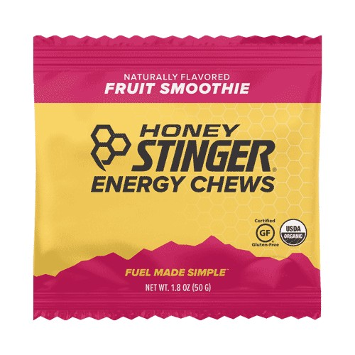 Honey Stinger Chews Single Organic Energy Fruit Smoothie