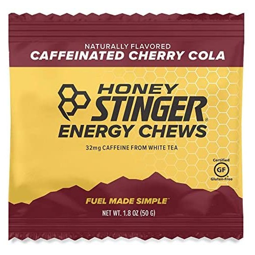 Honey Stinger Chews Single Organic Energy Cherry Cola