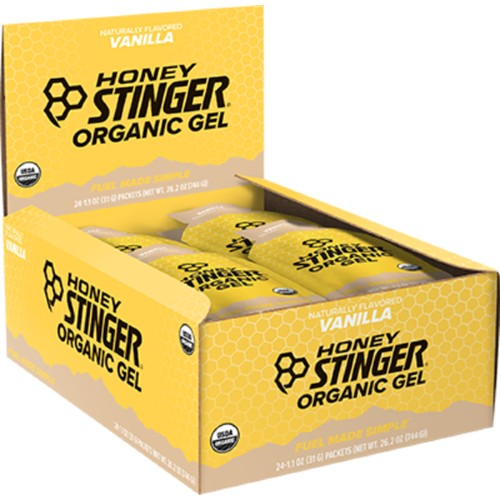 Honey Stinger Gels Box of 24 Vanilla