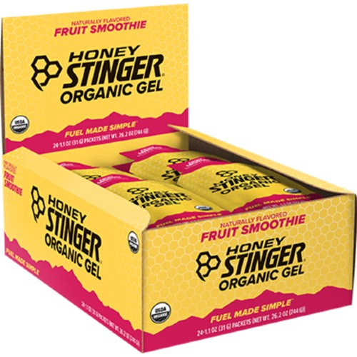 Honey Stinger Gels Box of 24 Fruit Smoothie
