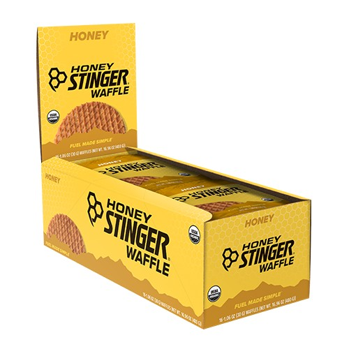 Honey Stinger Waffles Box/16 Honey
