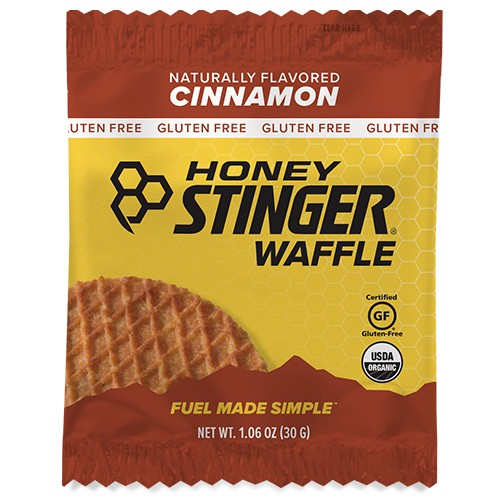 Honey Stinger Waffles Single Cinnamon GF Single