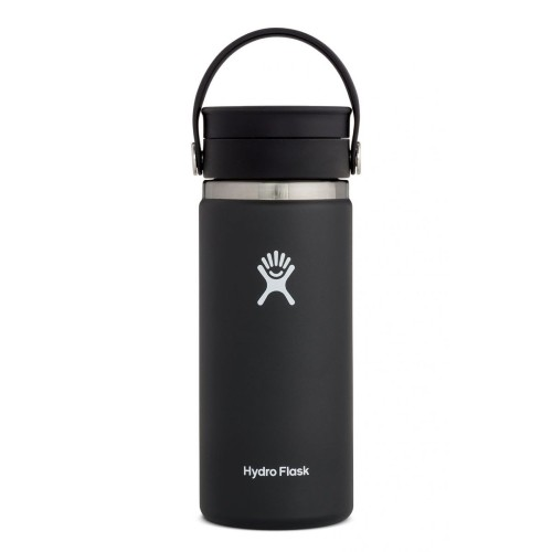 Hydro Flask 16oz Wide w/ Flex Black