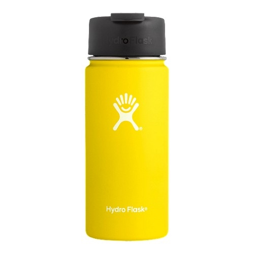Hydro Flask 16oz Wide w/ Flip Lemon