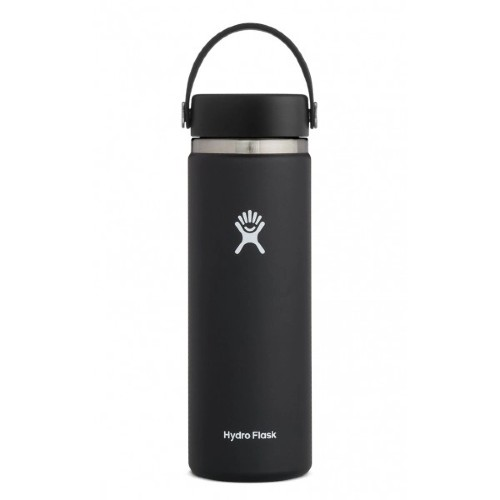 Hydro Flask 20oz Wide w/ Flip Black