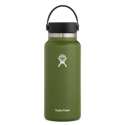 Hydro Flask 32oz Wide w/ Flex Olive