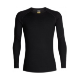 Icebreaker 150 Zone LS Crewe Men's Black/Mineral