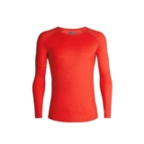 Icebreaker 150 Zone LS Crewe Men's Chili Red/Moonstone