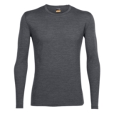 Icebreaker 200 Oasis Ls Crewe Men's Gritstone Heather