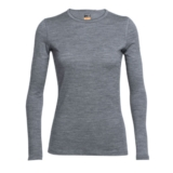 59306793970d0 Icebreaker 200 Oasis Ls Crewe Women s Gritstone Heather
