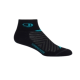 Icebreaker Run+ Light Mini Women's Black/Lagoon