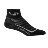 Icebreaker Run+ Mini Ultralite Women's Black/Pearl