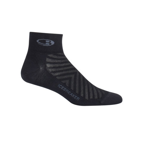 Icebreaker Run+ Ultra Light MC Men's Black/Monsoon