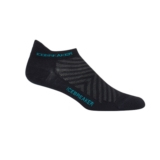 Icebreaker Run+ Ultra Light Women's Black/Lagoon