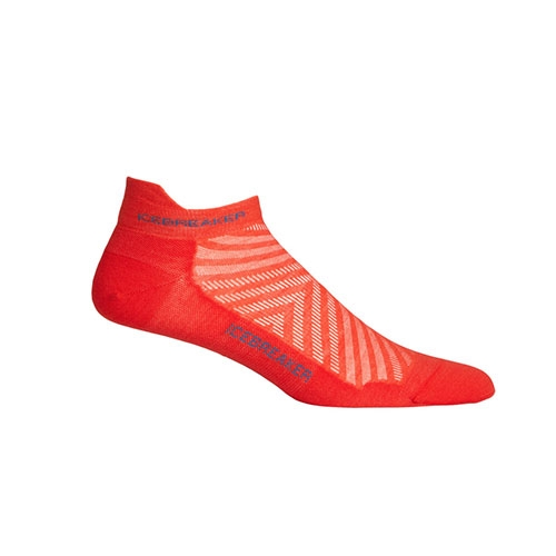 Icebreaker Run+ Ultra Light Men's Chili Red/Thunder