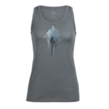 Icebreaker Tech Lite Tank Women's Trough The Trees Metal