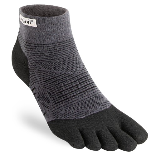 Injinji Mini Crew Lightweight Unisex Black