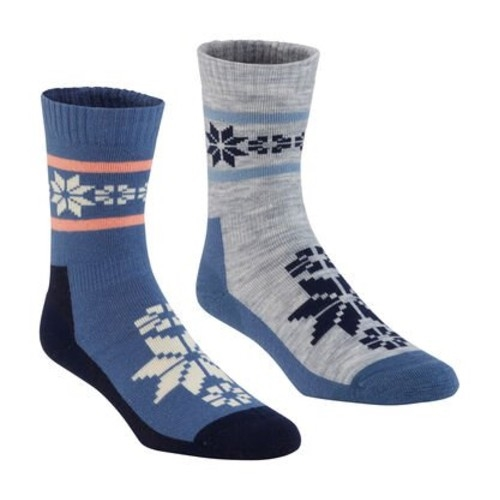 Kari Traa Rusa Wool Sock 2 PK Women's Denim