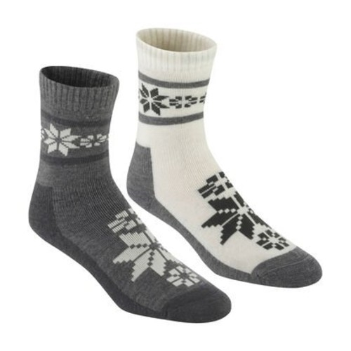 Kari Traa Rusa Wool Sock 2 PK Women's Dusty