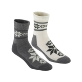Kari Traa Rusa Wool Sock 2Pk Women's Dusty